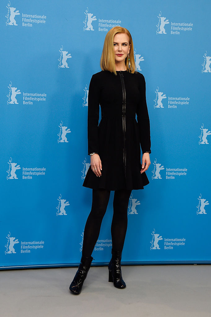 attends the 'Queen of the Desert' photocall during the 65th Berlinale International Film Festival at Grand Hyatt Hotel on February 6, 2015 in Berlin, Germany.