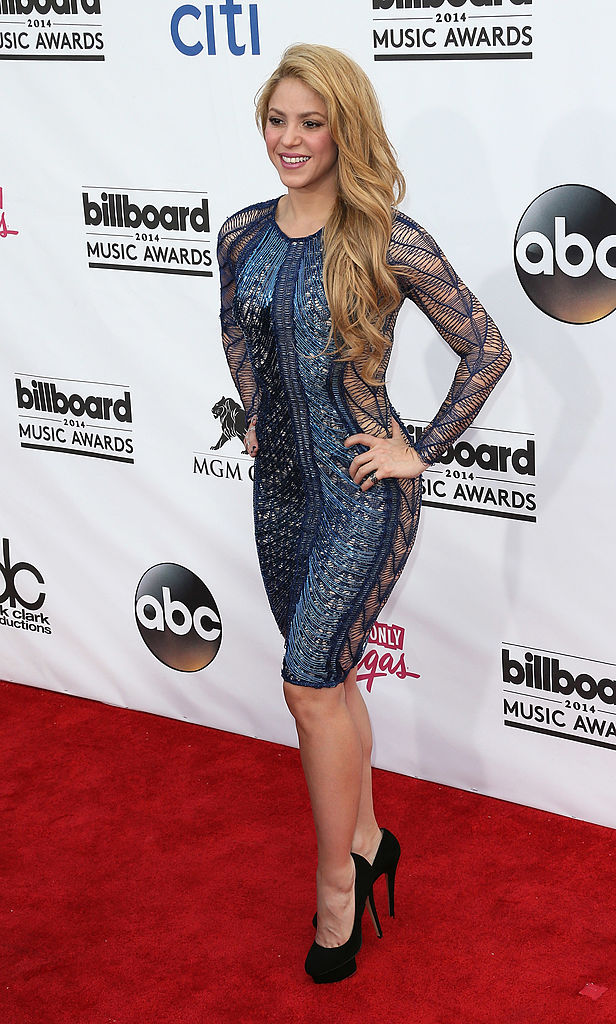 LAS VEGAS, NV - MAY 18: Recording artist Shakira attends the 2014 Billboard Music Awards at the MGM Grand Garden Arena on May 18, 2014 in Las Vegas, Nevada. (Photo by David Livingston/Getty Images)