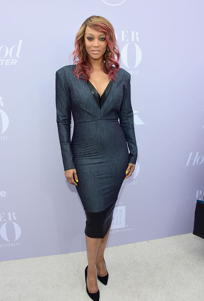 LOS ANGELES, CA - DECEMBER 09: TV personality Tyra Banks attends the 24th annual Women in Entertainment Breakfast hosted by The Hollywood Reporter at Milk Studios on December 9, 2015 in Los Angeles, California. (Photo by Frazer Harrison/Getty Images for The Hollywood Reporter)