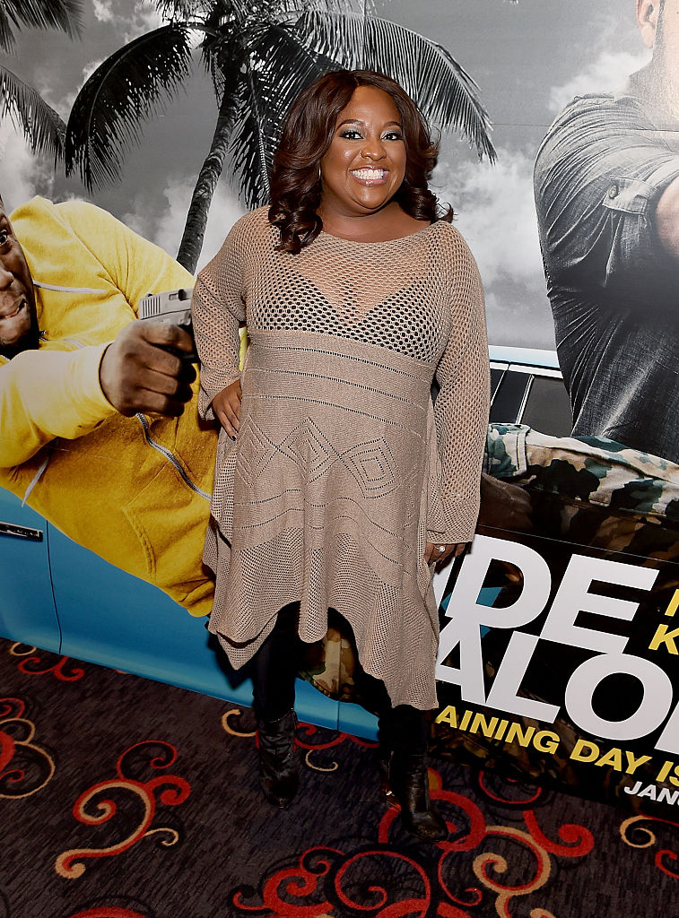"ATLANTA, GA - JANUARY 13: Sherri Shepherd attends ""Ride Along 2"" advance screening at Regal Cinemas Atlantic Station on January 13, 2016 in Atlanta, Georgia. (Photo by Paras Griffin/Getty Images for Universal Pictures)"