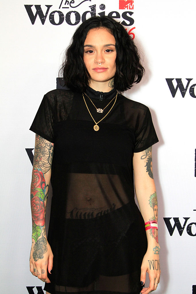 AUSTIN, TX - MARCH 16: Recording artist Kehlani attends the 2016 MTV Woodies/10 For 16 on March 16, 2016 in Austin, Texas.