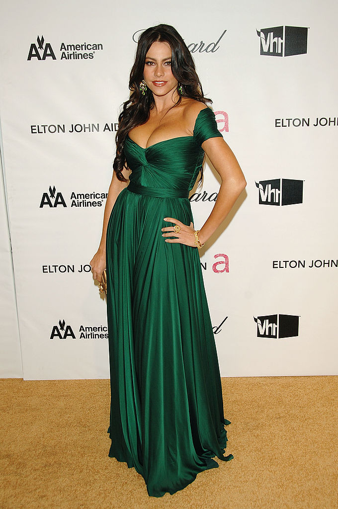HOLLYWOOD - FEBRUARY 24: Actress Sofia Vergara attends the 16th Annual Elton John AIDS Foundation Academy Awards viewing party at the Pacific Design Center on February 24, 2008 in West Hollywood, California. (Photo by Stephen Shugerman/Getty Images)
