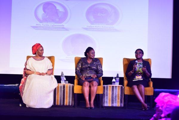 Hajiya Aisha Babangida, Funke Egbemode & Mosunmola Umoru