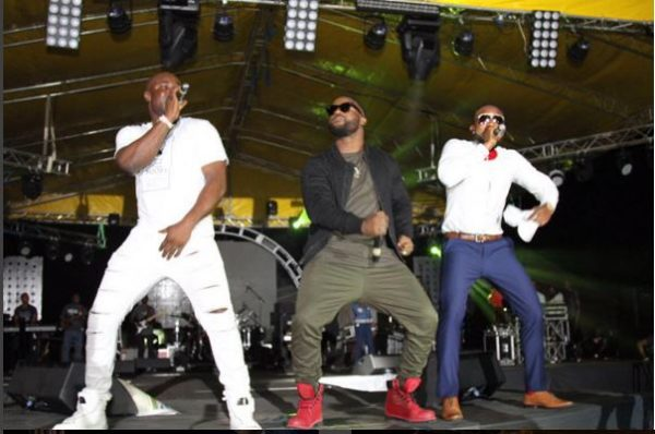 Harrysongz, Iyanya and Kcee