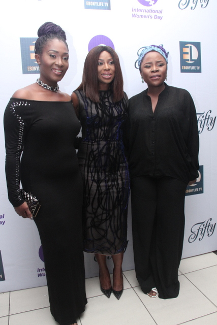 Ruby Gyang, Mo Abudu & Omawumi