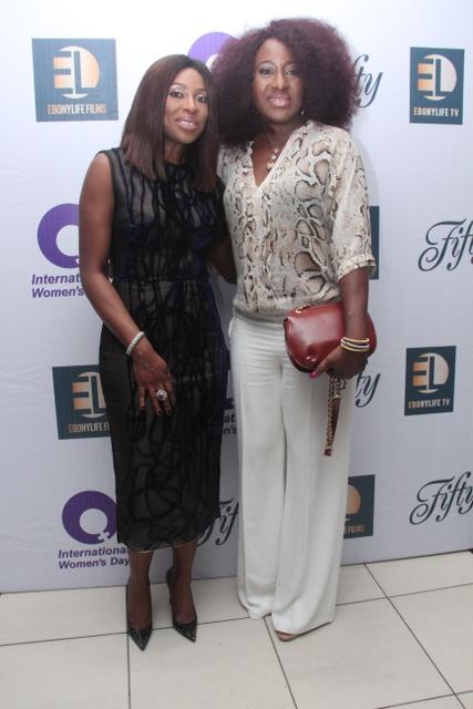 Mo Abudu & Ireti Doyle