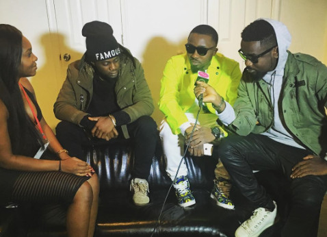 Iceprince, Endia and Sarkodie