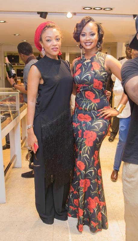 Ify Umeyiora and Omowunmi Akinnifesi