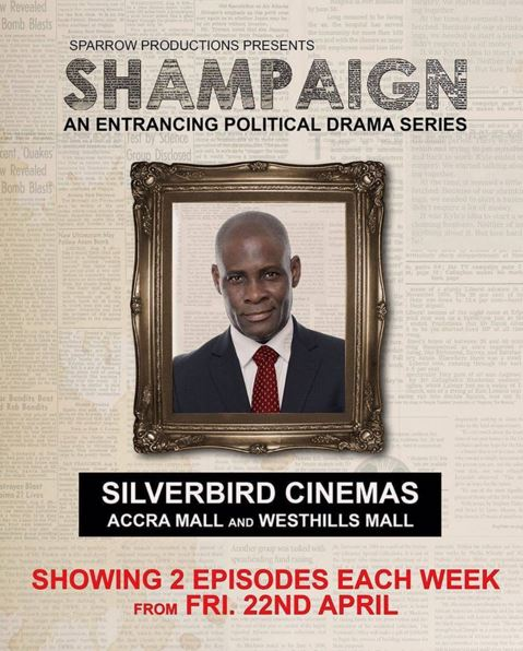 JOT AGYEMANG is PRESIDENT HENRY KOFI MALM. Affable, charismatic and popular. He starts a war between two women that may eventually be his undoing.