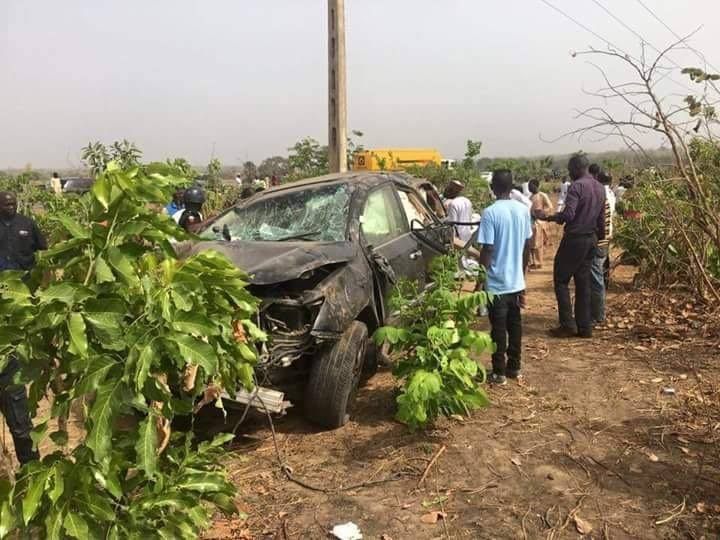 James Ocholi Accident 2