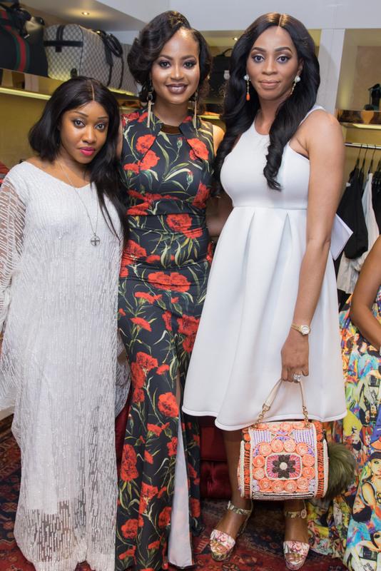 Jennifer Obayuwana, Omowunmi Akinnifesi and Sade Okoya