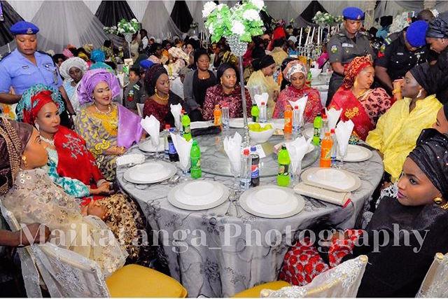 Jigawa State Governor Badaru Abubakar-Daughter Ameena Wedding 5