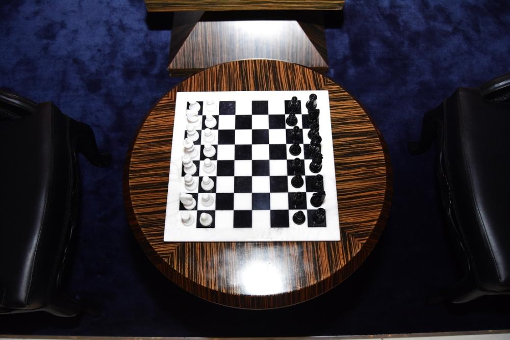Johnnie Walker Blue Label Luxury VIP Chess Lounge 10