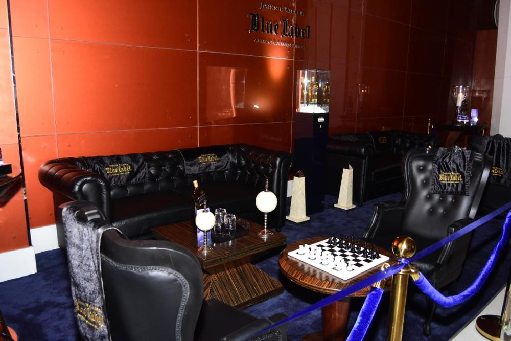 Johnnie Walker Blue Label Luxury VIP Chess Lounge 11