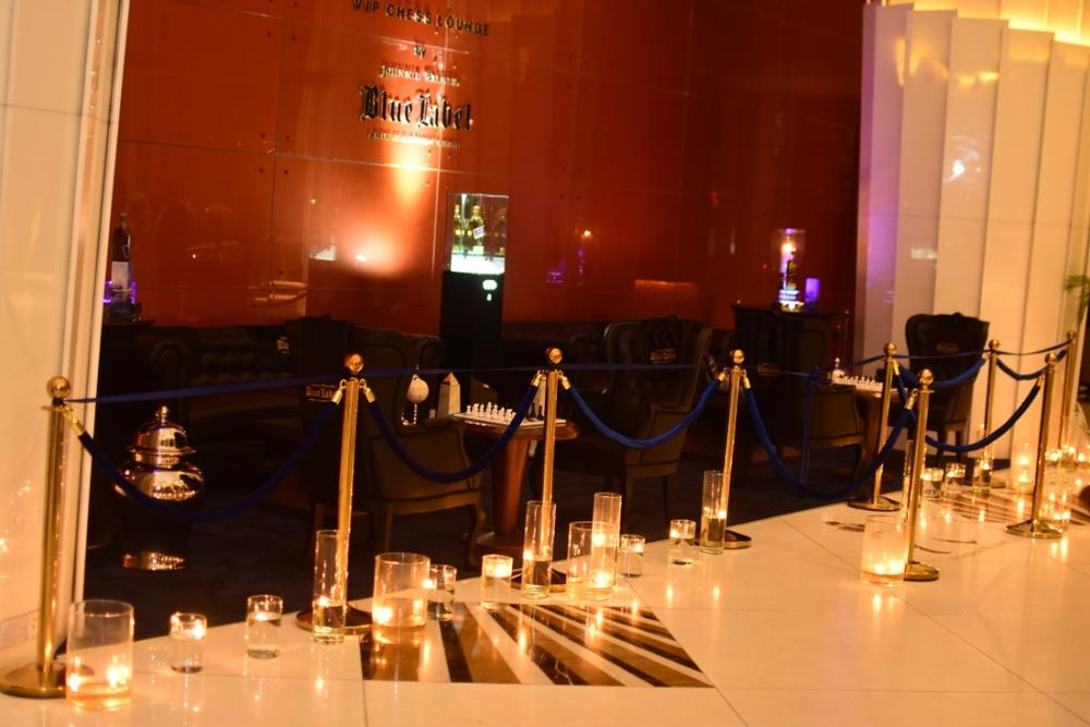 Johnnie Walker Blue Label Luxury VIP Chess Lounge 13