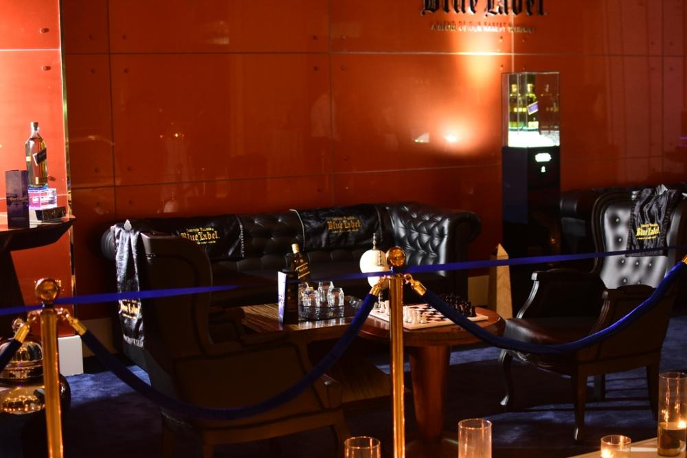 Johnnie Walker Blue Label Luxury VIP Chess Lounge 14