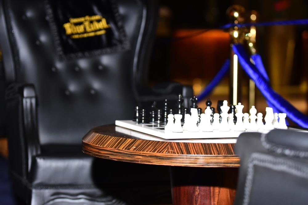 Johnnie Walker Blue Label Luxury VIP Chess Lounge 15