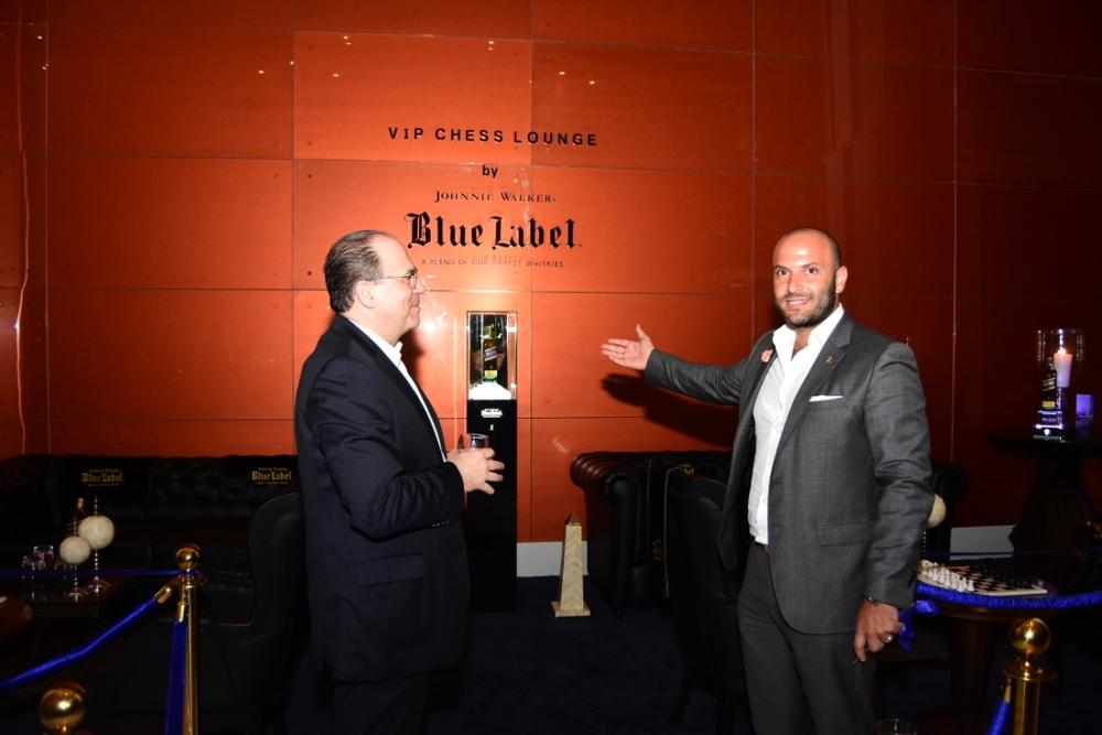 Johnnie Walker Blue Label Luxury VIP Chess Lounge 18