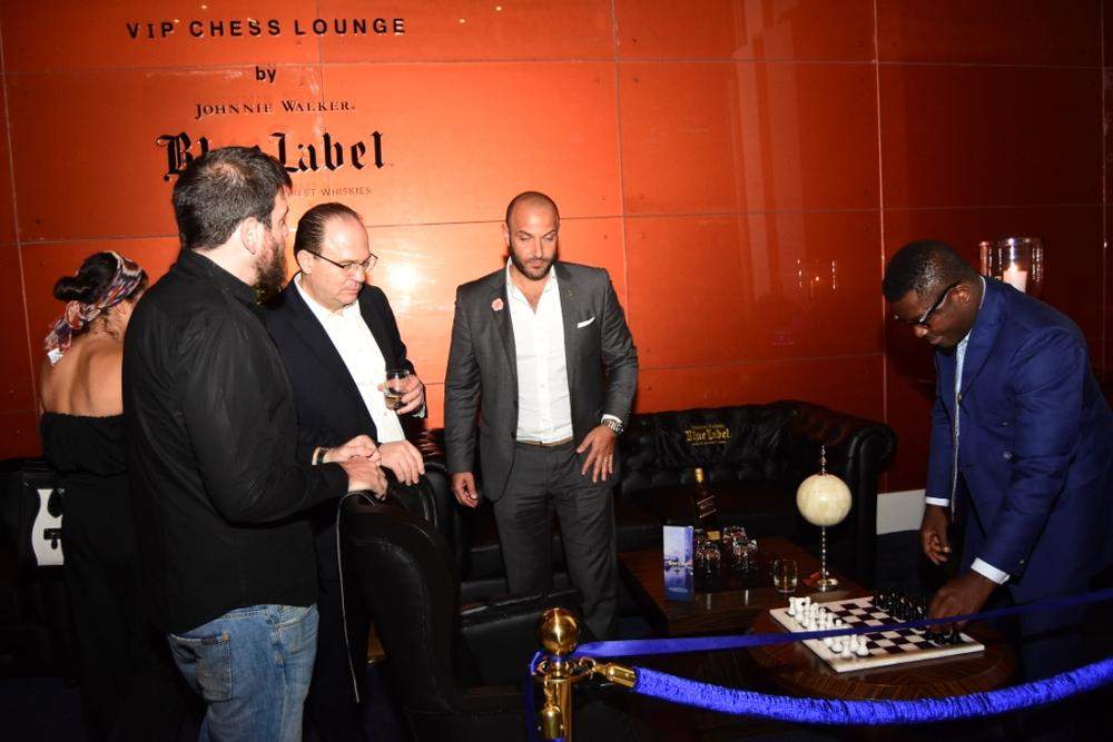Johnnie Walker Blue Label Luxury VIP Chess Lounge 19