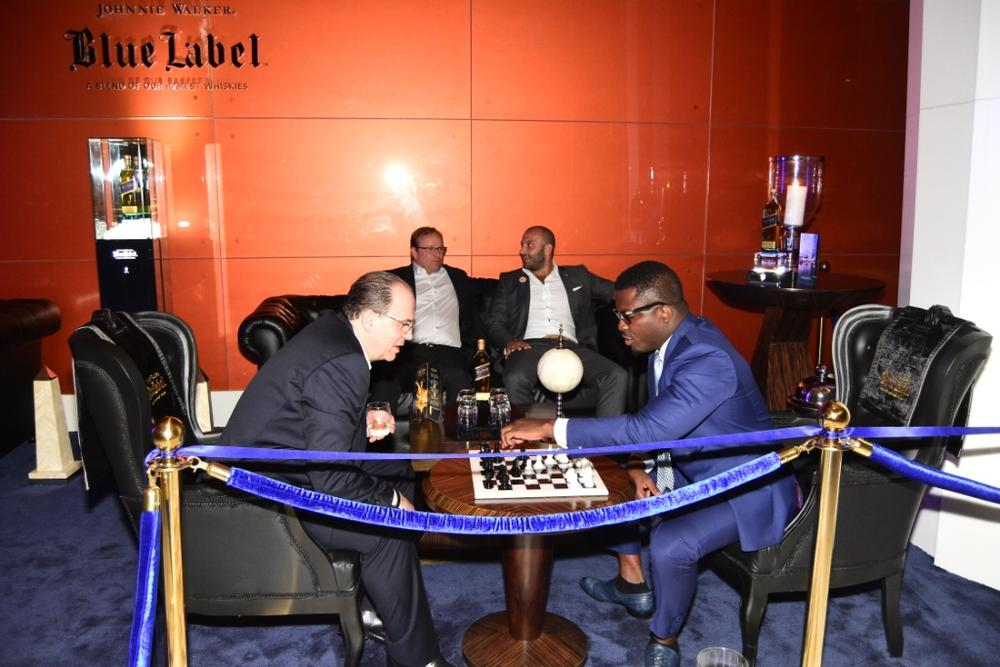 Johnnie Walker Blue Label Luxury VIP Chess Lounge 20