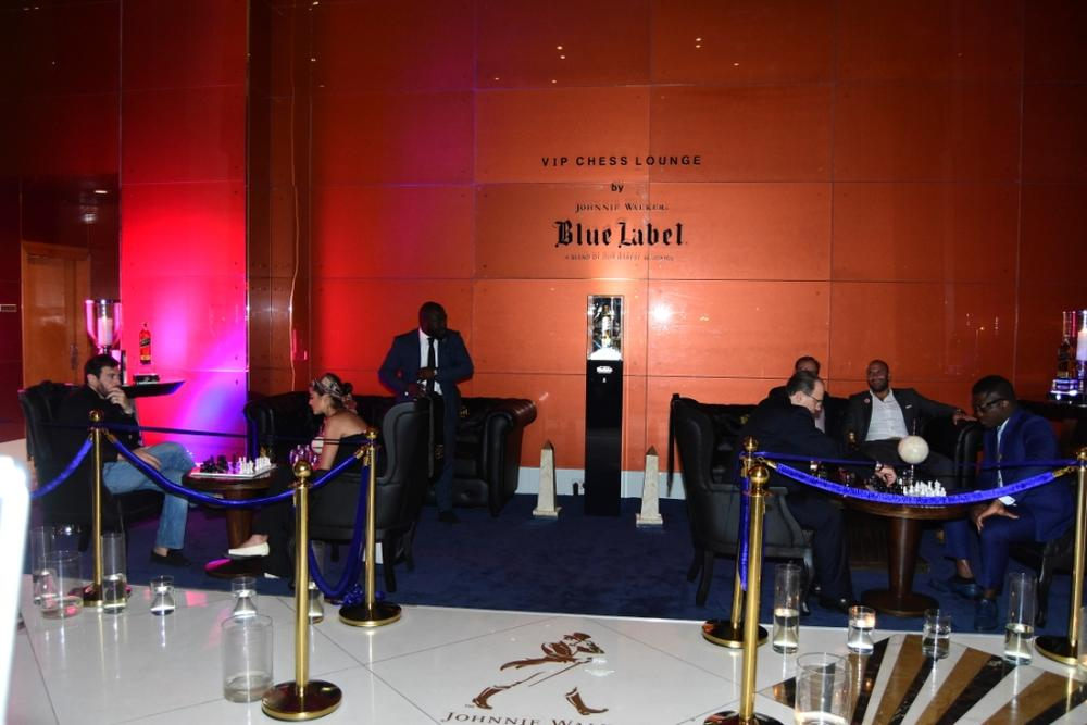 Johnnie Walker Blue Label Luxury VIP Chess Lounge 21
