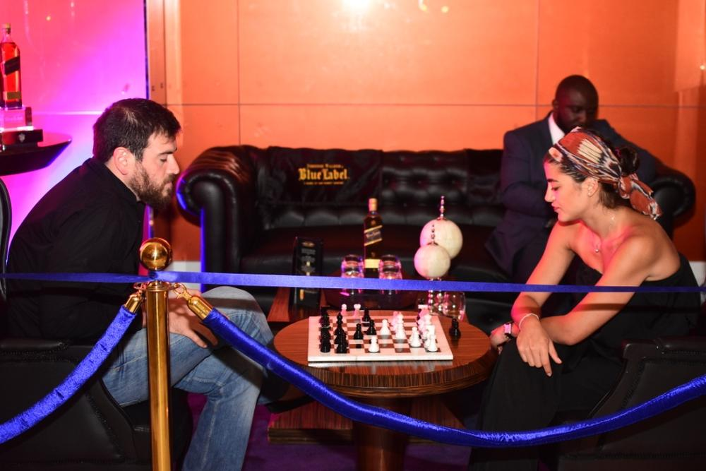 Johnnie Walker Blue Label Luxury VIP Chess Lounge 22