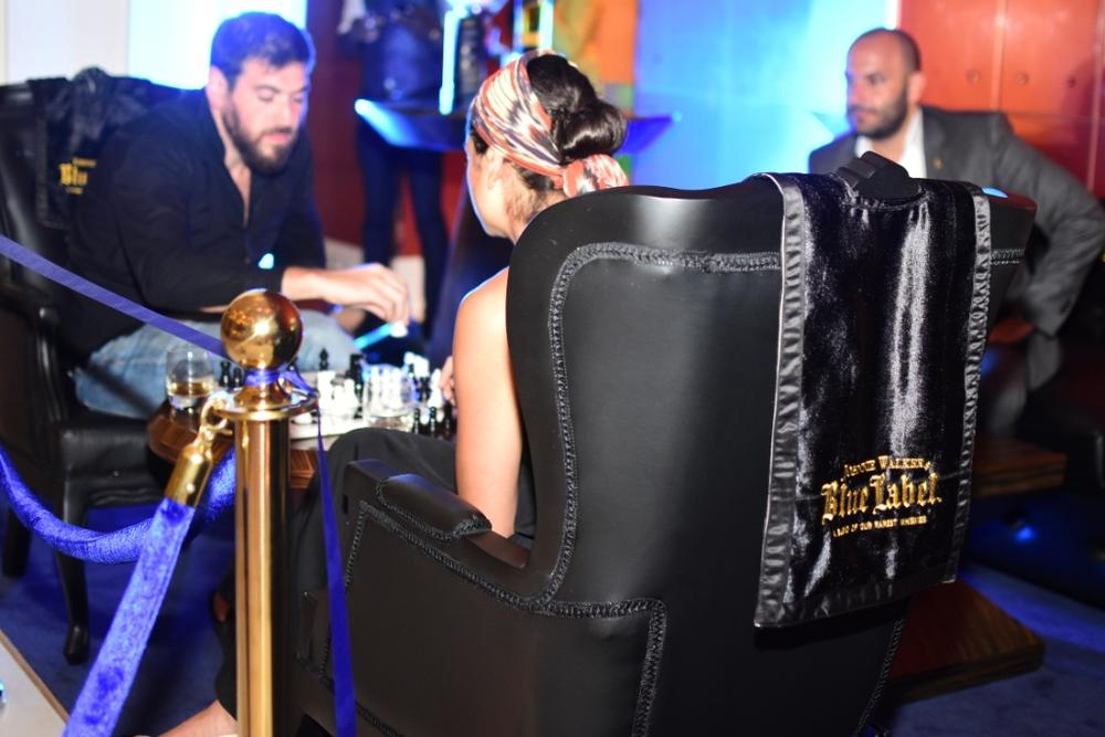 Johnnie Walker Blue Label Luxury VIP Chess Lounge 24