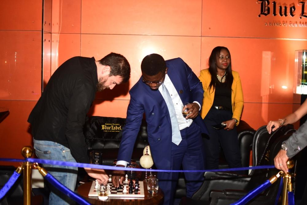 Johnnie Walker Blue Label Luxury VIP Chess Lounge 25