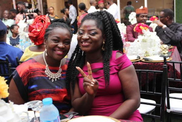 Kathleen Ndongmo and Tosin Ajibade