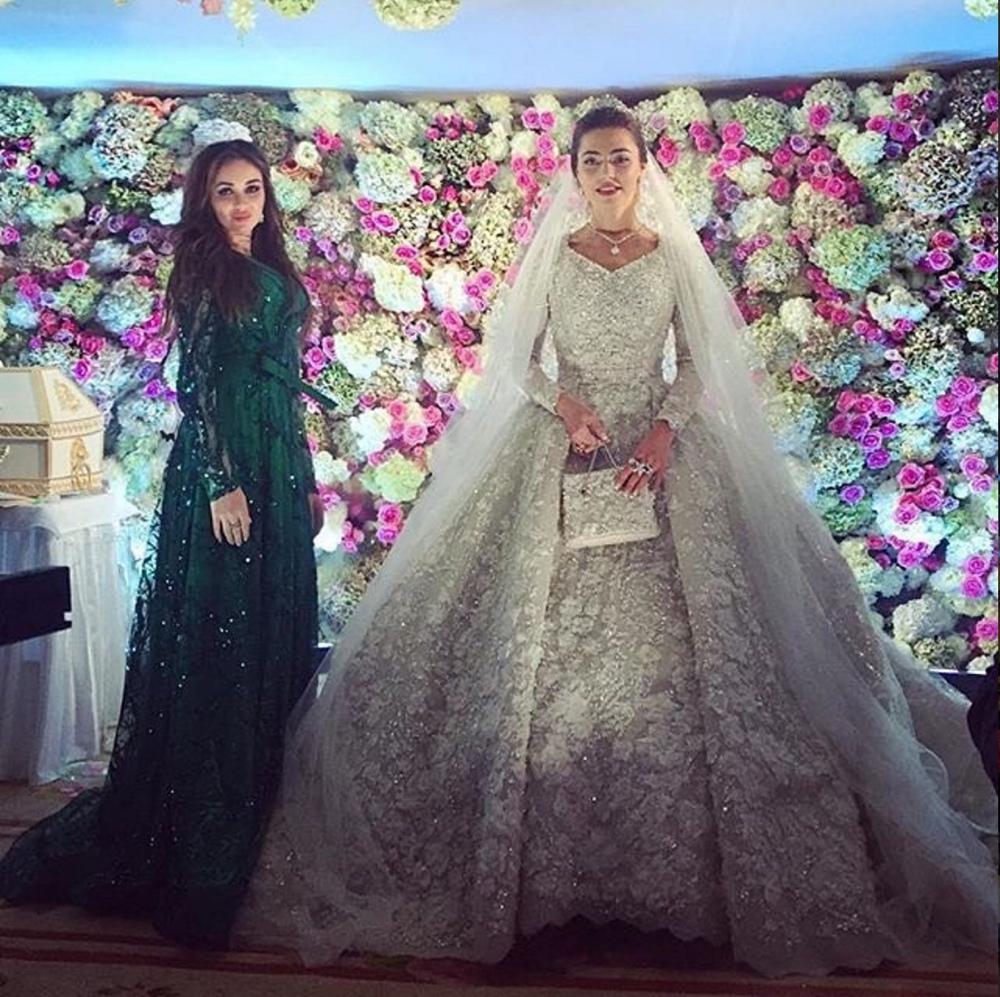 Khadija Uzhakhovs in Elie Saab Couture
