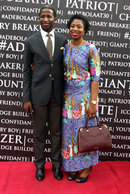 Kola and Eyitope Oyeneyin