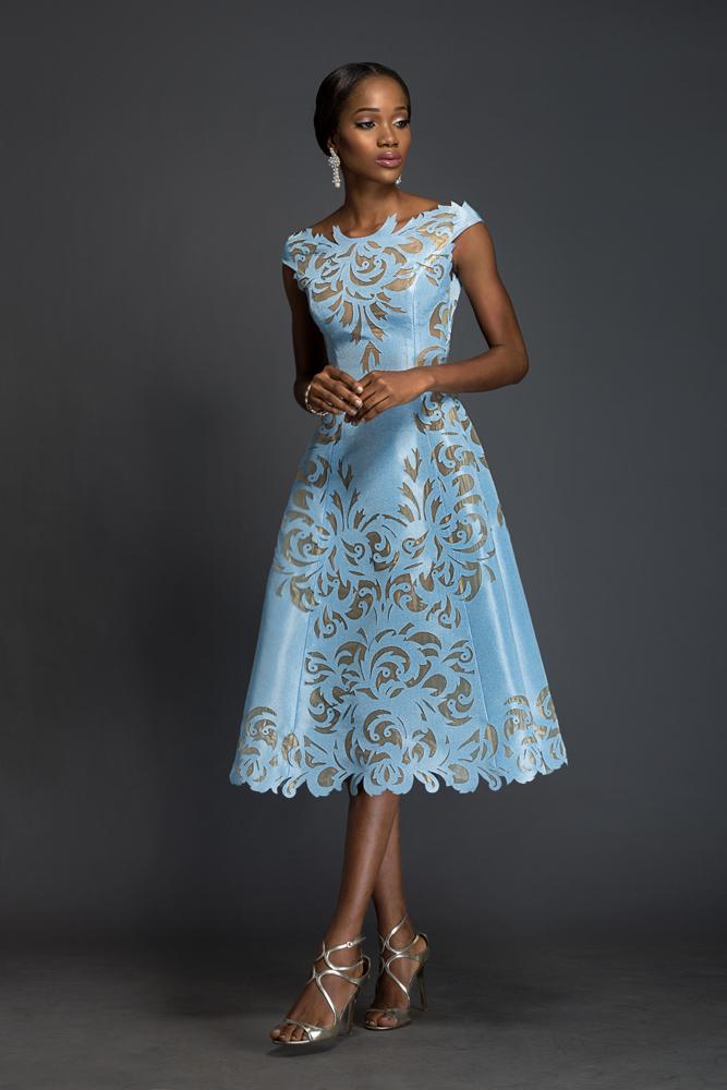 Komole Kandids Series 2 House of Deola Aso Oke Nigerian Wedding BellaNaija 7 - Traditional Wedding Skirts