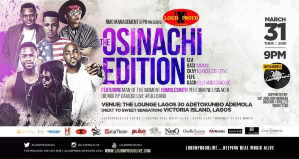 LoudNProudLive THE OSINACHI EDITION MARCH 2016