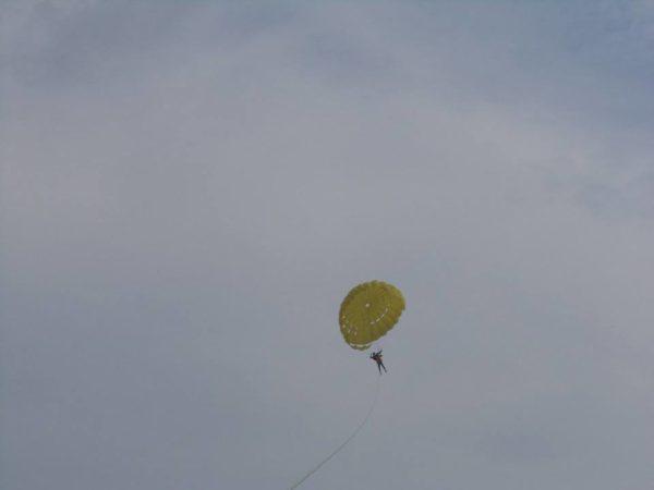 Me parasailing
