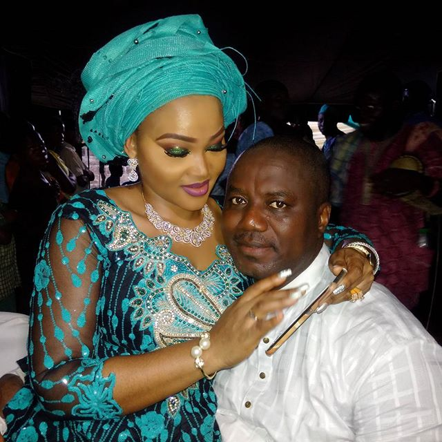Mercy Aigbe-Gentry and Lanre Gent