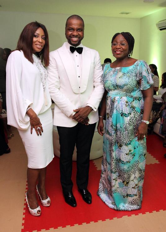 Mo Abudu, Adebola Williams, Princess Sarah Sosan