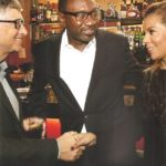 Nana and Femi Otedola meet Bill Gates 2