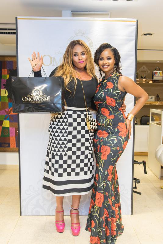 Nkiru Anumudu and Omowunmi Akinnifesi