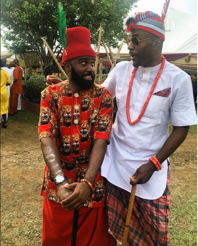 Noble Igwe and Chioma Otisi Traditional Wedding in Abiriba Abia_22