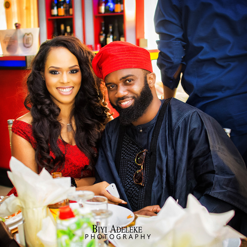 Noble Igwe and Chioma Otisi