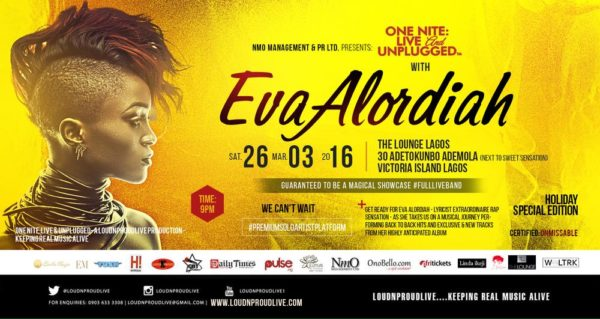 ONLU EVA ALORDIAH THE LOUNG LAGOS MARCH 2016