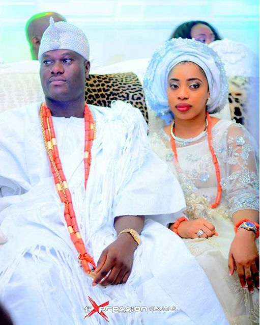 Image result for Oba Adeyeye Ogunwusi  and wuraola