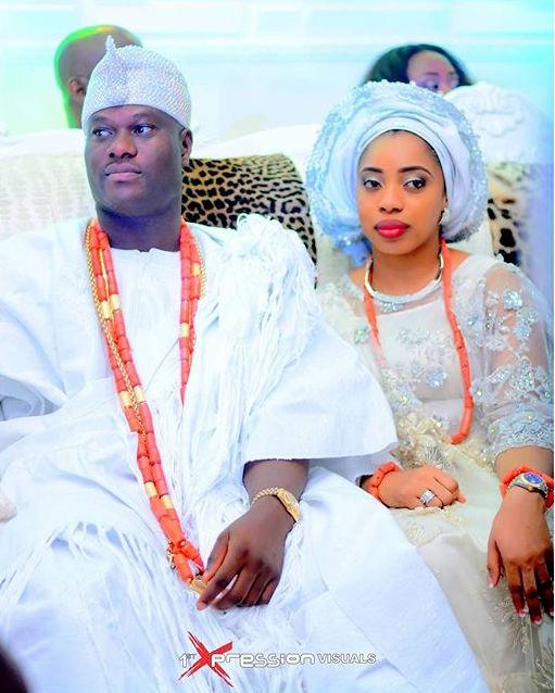 Oba Adeyeye Ogunwusi_Ooni of Ife Wedding_Olori Wuraola Otiti 2