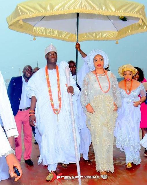 Oba Adeyeye Ogunwusi_Ooni of Ife Wedding_Olori Wuraola Otiti 3