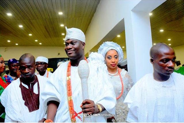 Oba Adeyeye Ogunwusi_Ooni of Ife Wedding_Olori Wuraola Otiti 5