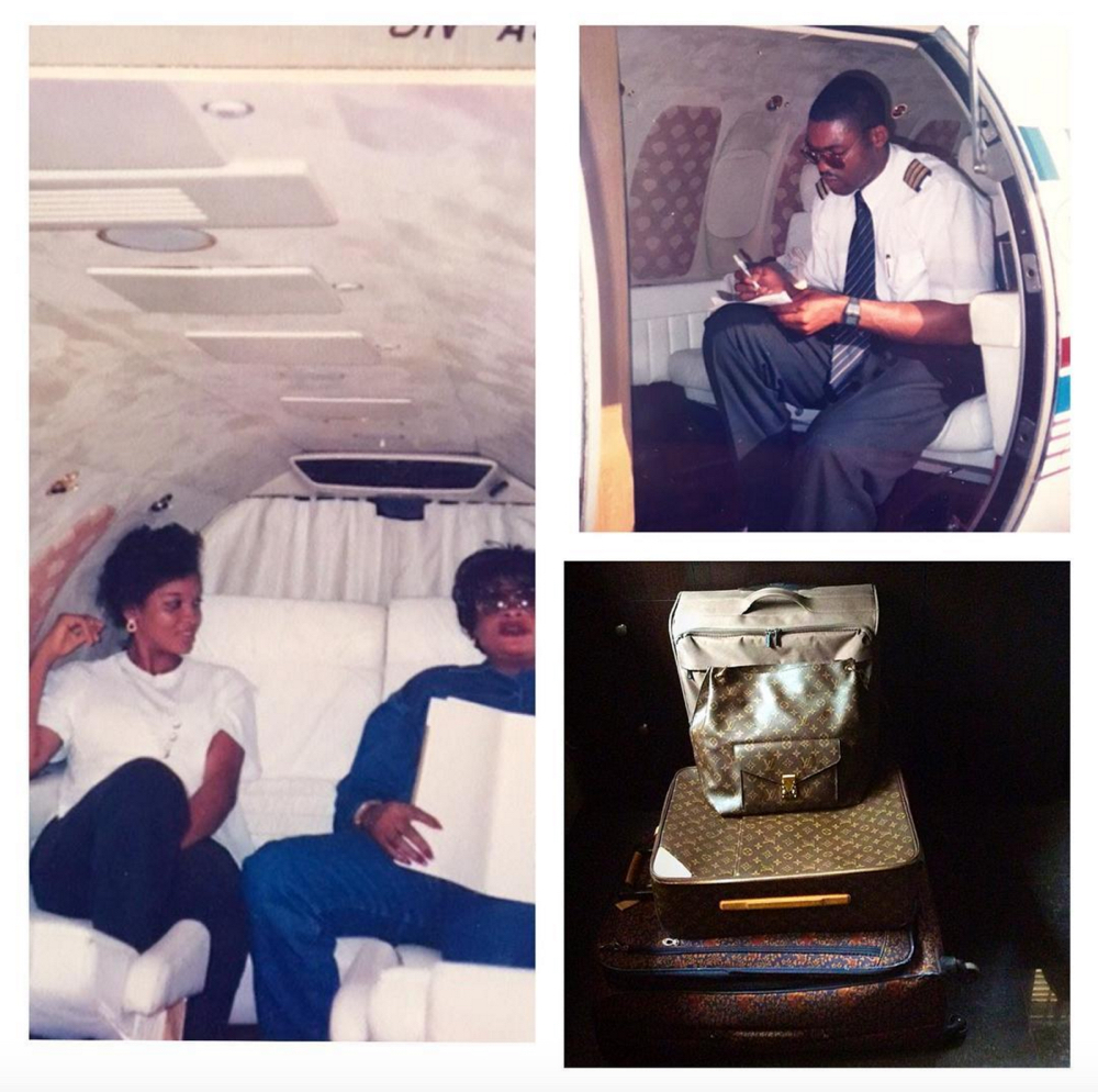 Omotola Jalade Ekeinde and Captain Matthew_20th Anniversary