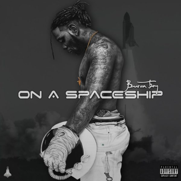 On a spaceship promo cover