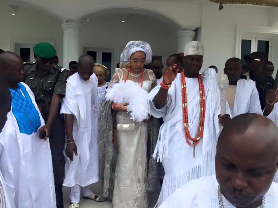 Ooni of Ife Adeyeye Ogunwusi Wedding and Otiti Wuraola Zynab 1
