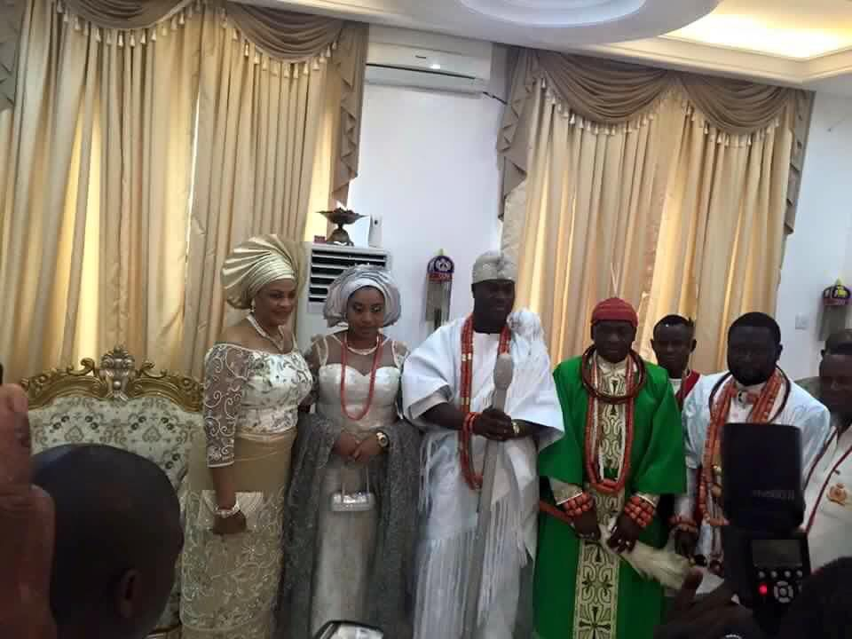 Ooni of Ife Adeyeye Ogunwusi Wedding and Otiti Wuraola Zynab 3