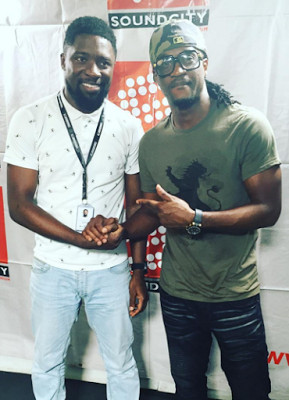 Peter Psquare and Olamide Adedeji